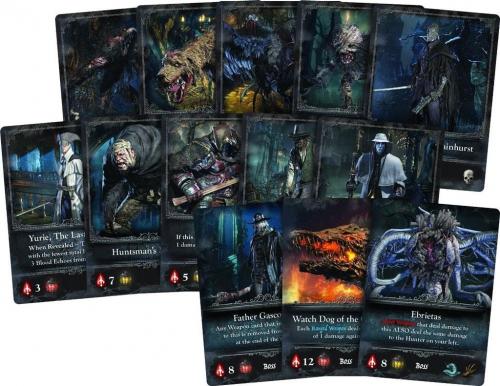 Bloodbornen kortteja