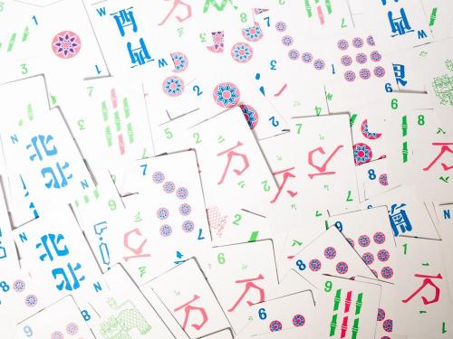Mahjong-kortteja
