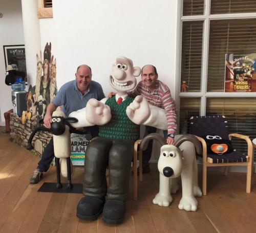 Wallace, Gromit ja Fragor