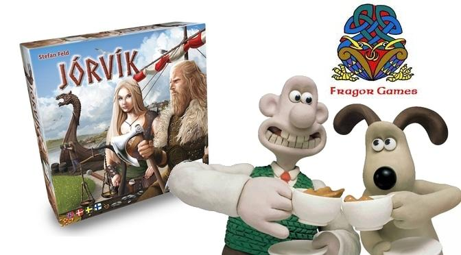 Jórvík Fragor Wallace Gromit