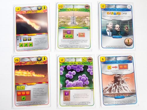 Terraforming Marsin kortteja
