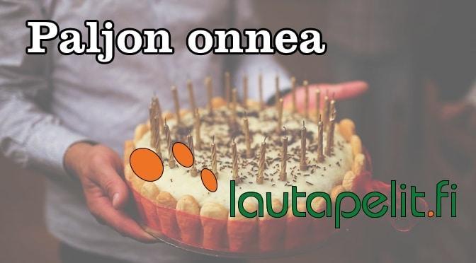 Paljon onnea Lautapelit.fi!
