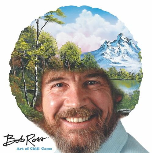 Bob Ross – The Art of Chillin kansi