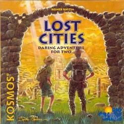 Lost Citiesin kansi