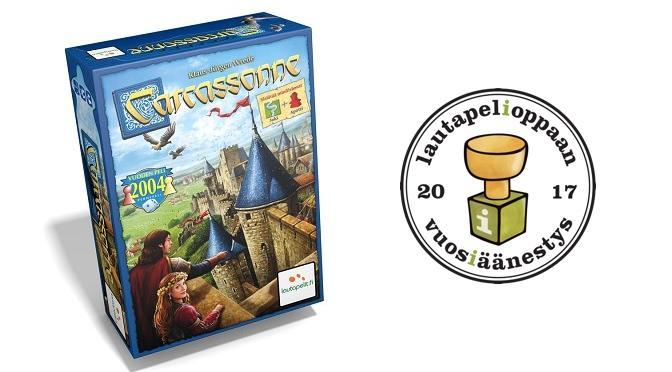 Vuoden peli: Carcassonne
