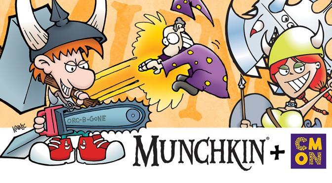 CMON + Munchkin