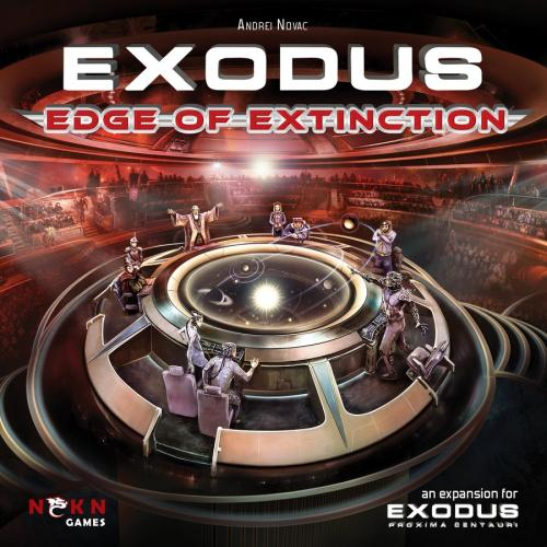 Exodus: Edge of Extinctionin kansi