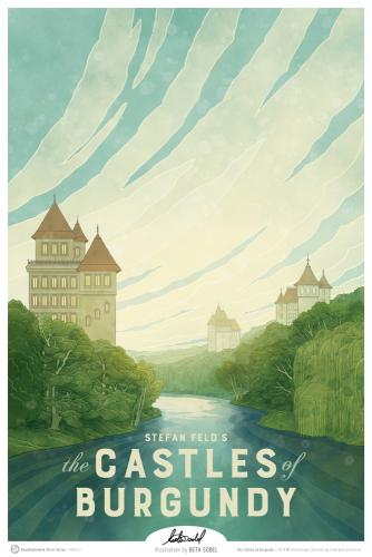 Castles of Burgundy -juliste