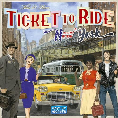 Ticket to Ride: New Yorkin kansi