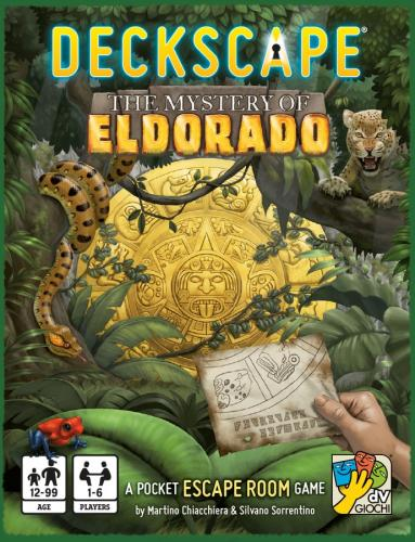 Deckscape: The Mystery of Eldoradon kansi