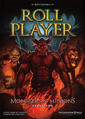 Roll Player: Monsters & Minionsin kansi