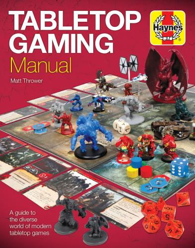 Tabletop Gaming Manualin kansi