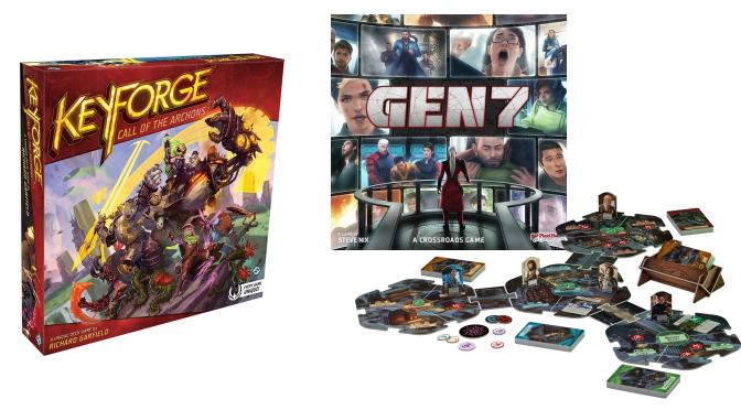 Keyforge, Gen7, Arkham Horror