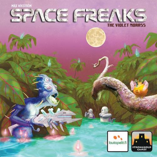 Space Freaks: The Violet Morassin kansi