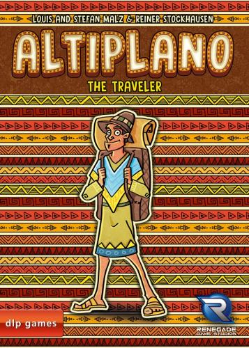 Altiplano: The Travellerin kansi