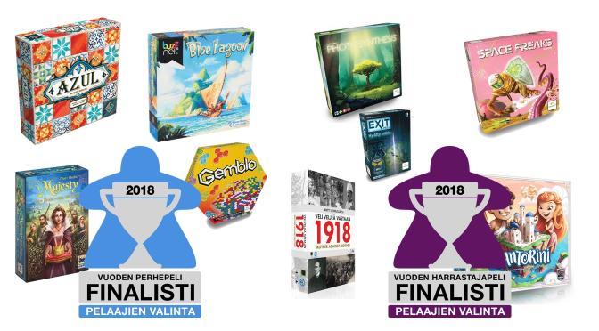 Pelaajien valinta -finalistit