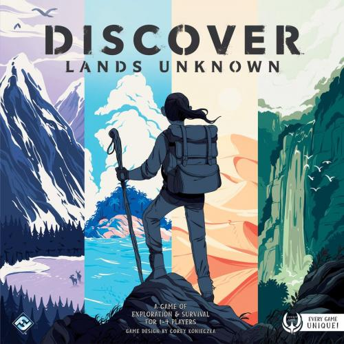 Discover: Lands Unknownin kansi