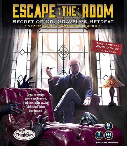 Escape the Room: The Secret of Dr. Gravely's Retreatin kansi