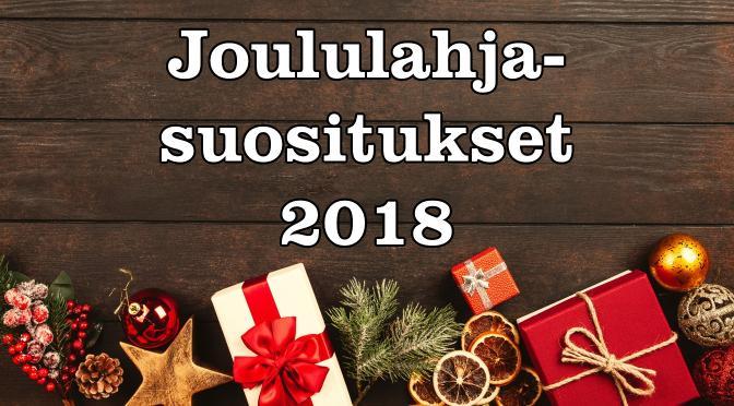 Joululahjasuositukset 2018