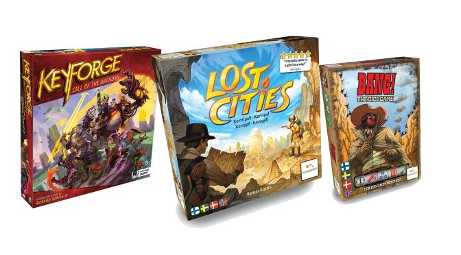 Keyforge, Bang!, Lost Cities