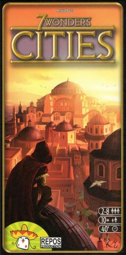 7 Wonders: Citiesin kansi
