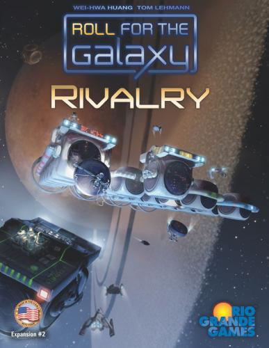 Roll for the Galaxy: Rivalryn kansi