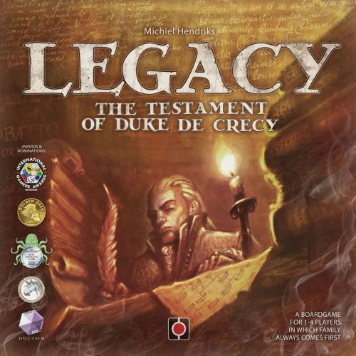Legacy: The Testament of Duke de Crecyn kansi