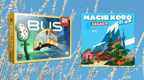 Bus ja Machi Koro Legacy