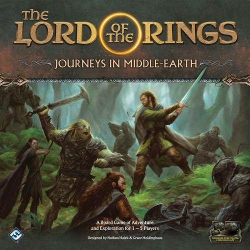 The Lord of the Rings: Journeys in Middle-earthin kansi