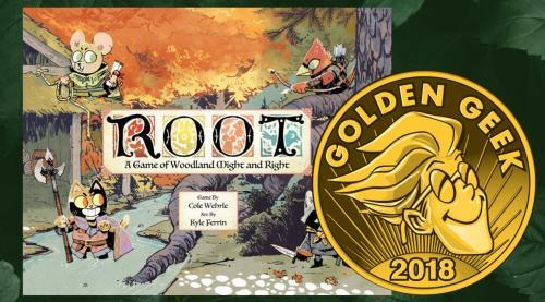 Root voitti Golden Geekin
