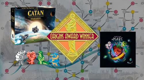 Origins Awards + muita uutisia