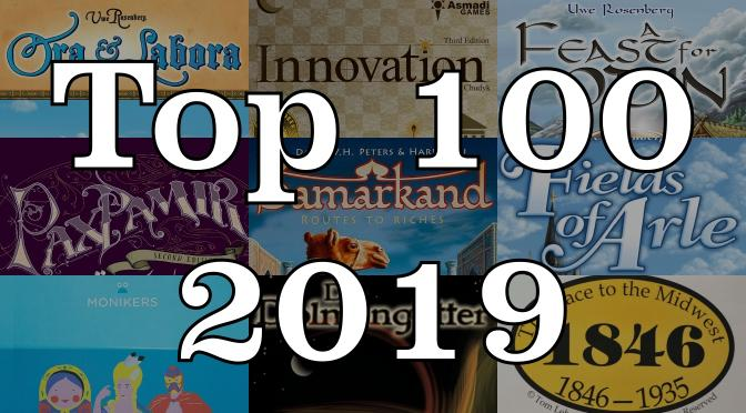 Top 100 parhaat pelit 2019