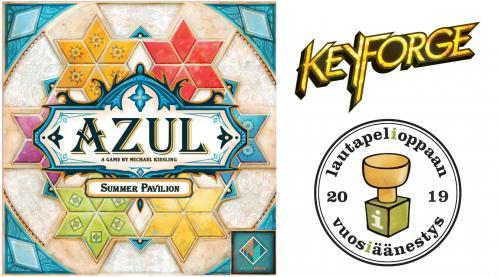 Azul: Summer Pavilion, KeyForge ja vuosiäänestys