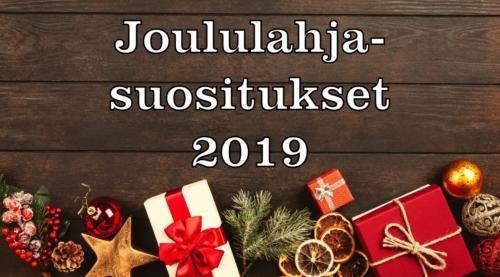 Joululahjasuositukset 2019