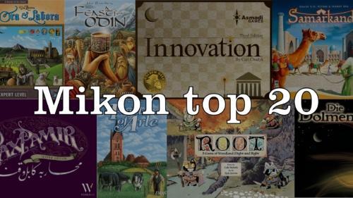 Mikon top 20 -lista