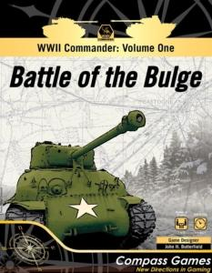 WWII Commander: Volume One – Battle of the Bulgen kansi.