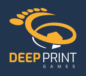 Deep Print Gamesin logo