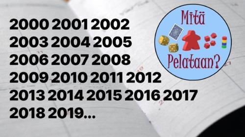 Parhaat pelivuodet 2000–2019
