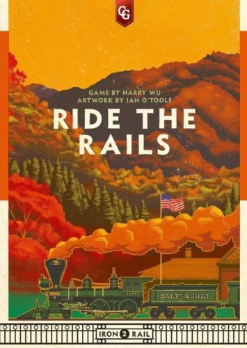 Ride the Railsin kansi