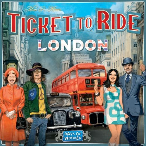 Ticket to Ride: Londonin kansi