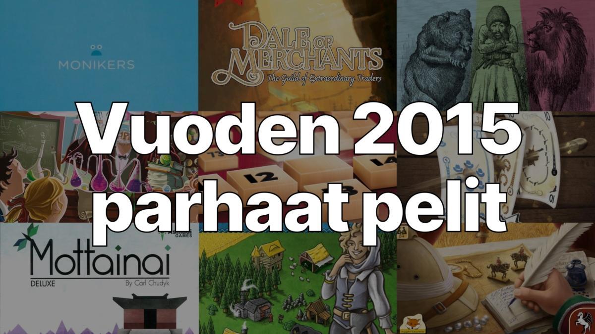 Vuoden 2015 parhaat pelit