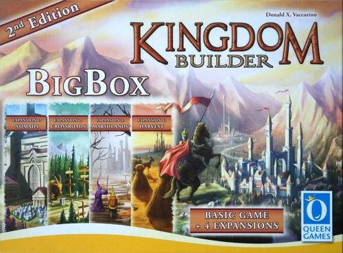 Kingdom Builder: Big Box 2nd editionin kansi