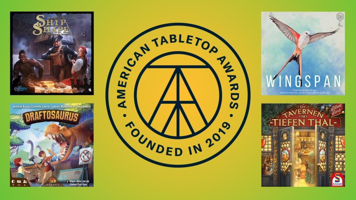 American Tabletop Awards 2020 -voittajat