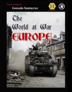 The World at War Europen kansi