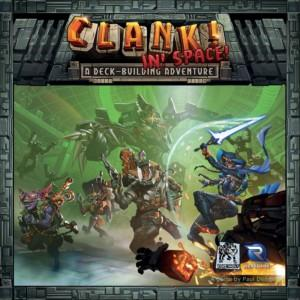 Clank! In! Space!:n kansi