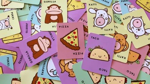 Taco katti pukki juusto pizza