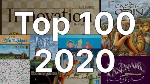 100 parasta peliä vuonna 2020