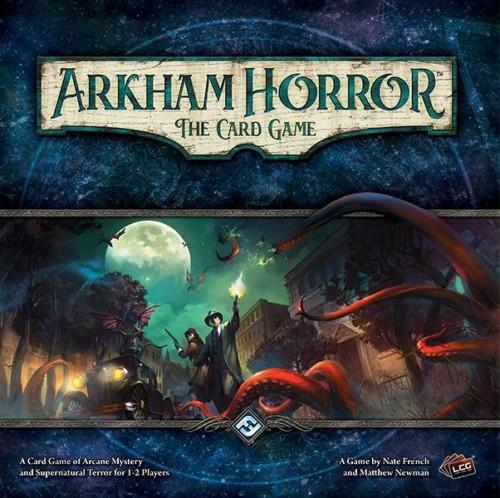 Arkham Horror: The Card Gamen kansi