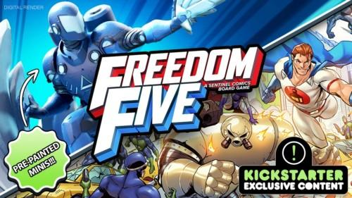Freedom Five -banneri