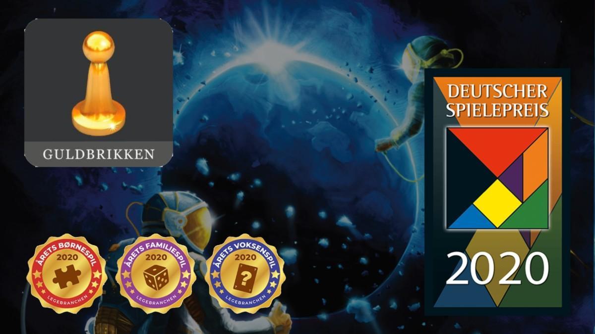 Guldbrikken, Deutscher Spielepreis, Årets Spil